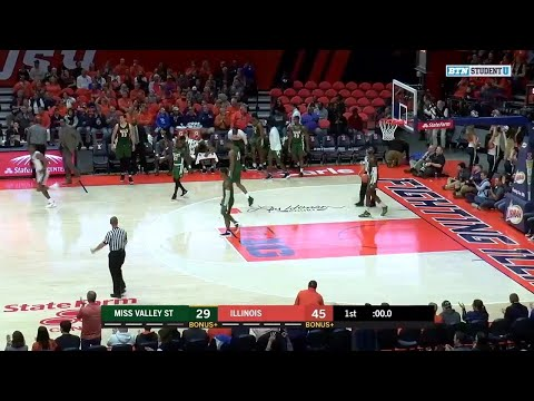 Highlights: Miss. Valley St. at Illinois | Big Ten Basketball