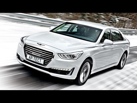 Уже не Hyundai, еще не Mercedes Genesis G90. Тест на полигоне