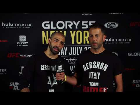 Gershon calls out Josh Jauncey following TKO win at GLORY 55 NEW YORK