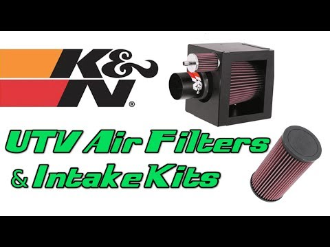 Polaris RZR 800 K&N Replacement Filter - Side By Side Stuff
