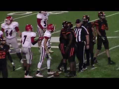 Highlights - Diboll Lumberjacks vs Gilmer Buckeyes - Nov 10, 2016