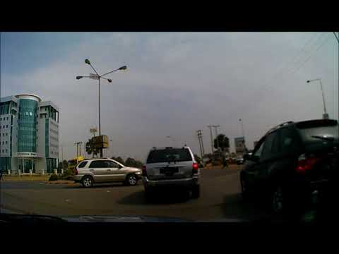 Ghanatown to Cape Point, The Gambia (21/01/2018) (Dashcam)