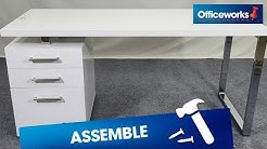 Contour Executive Desk Assembly Instructions