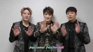 Christmas Message from JYJ 2014 (Sub español)