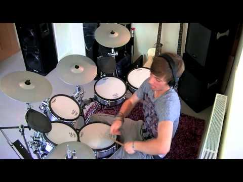 The Red Jumpsuit Apparatus - Face Down (Drum Cover) *HD*