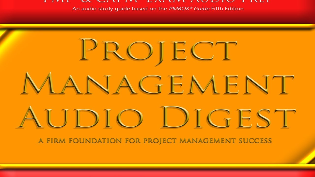 18 Hour Pmp Exam Prep Audio Buy Download Communications Chapter