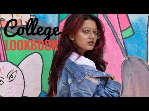 College LookBook India 2018 II Riyanka Sarkar