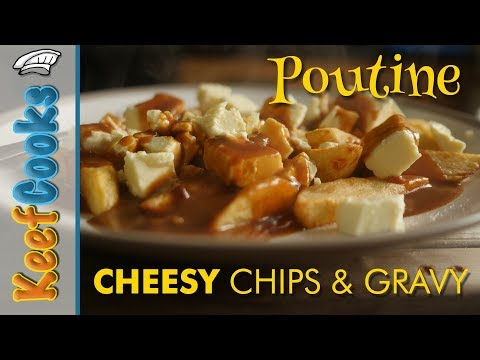 Poutine   Cheesy Chips And Gravy