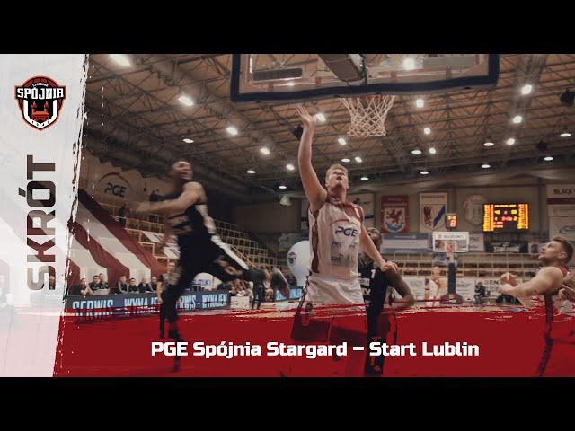 Skrót meczu PGE Spójnia Stargard – Start Lublin