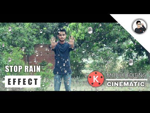 Stop Rain Effect Kinemaster | Mobile Video Editing | Techabuzar