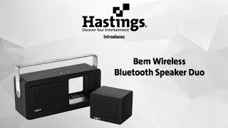 Introducing the Bem Wireless Speaker Duo
