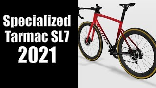 Specialized Tarmac SL7 2021 - WHAT WE KNOW SO FAR! MORE AERO?