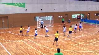 H26年 第23回JOCハンドボール大会東京VS岐阜(ダイジェスト)(女子予選リーグ)
