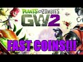 Plants vs zombies gw2: 5 easy ways to get fast coins