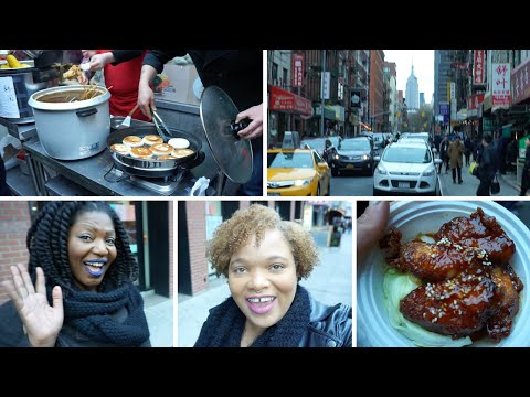 Cheap Eats in Chinatown & Lower East Side Street Art Tour | NYC Vlog 3