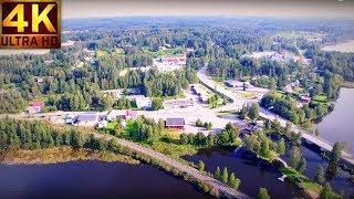 Video 4K Bird`s Eye view  Finland, Parikkala Särkisalmi ilmasta katsottuna elok 2016 download MP3, 3GP, MP4, WEBM, AVI, FLV Agustus 2018