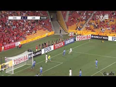 China vs Uzbekistan 2-1  All Goals & Highlights [14-1-2015] AFC Asian Nations Cup 2015