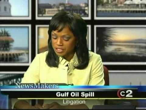 6-14-10 Newsmakers - BP oil spill feat. Motley Rice attorney Marlon Kimpson