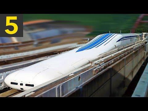 Top 5 FAST Train Passbys - 600kph!