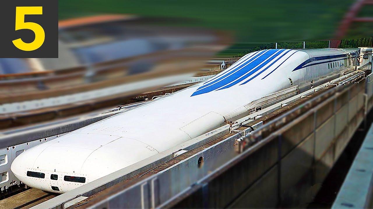 Download Top 5 FAST Train Passbys - 600kph!