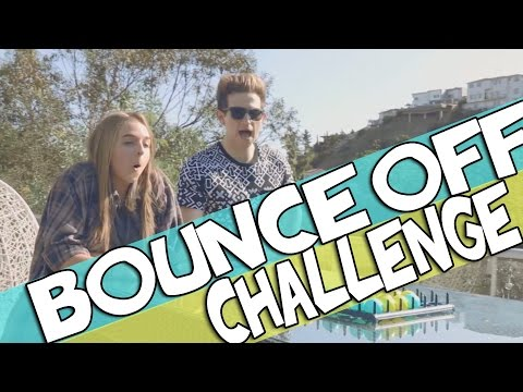 BOUNCE OFF CHALLENGE | RICKY DILLON