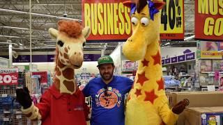 4.29.18 Geoffrey Giraffe last public appearance Altamonte Springs Florida Store