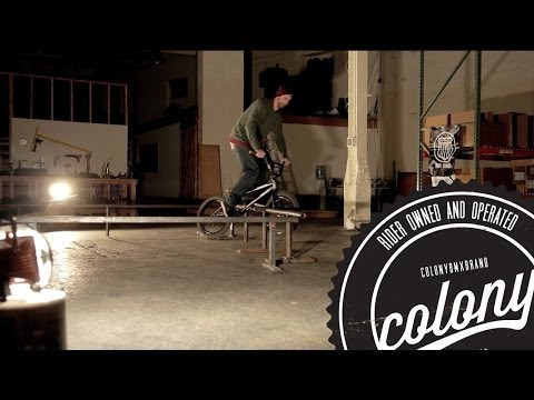 Colony BMX - Mike Brennan warehouse session