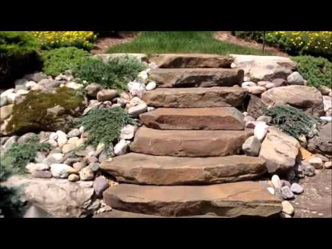Применение натурального камня в ландшафтном дизайне