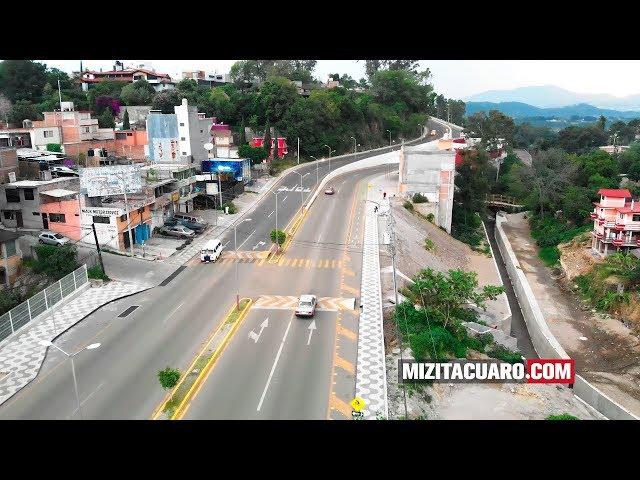 Así lucen los trabajos de la barranca del Diablo en Zitácuaro