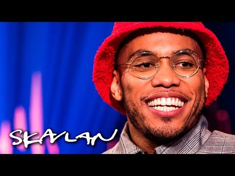 Anderson .Paak explains why he wants to smile less | SVT/TV 2/Skavlan