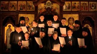 Пасхальные песнопения в Свято-Покровском Голосеевском монастыре