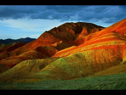 Danxia Landform At Nantaizi Village Of Nijiaying Town  Youtube