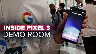 Inside the Pixel 3 demo room: Pixel 3 XL, Pixel Slate and Home Hub up close