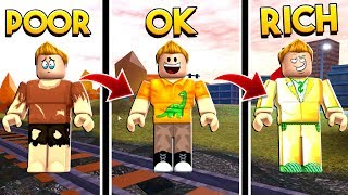 FROM POOR TO RICH IN ROBLOX JAILBREAK