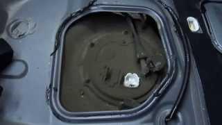 Топливный фильтр Mitsubishi Lancer Х. Часть 1.