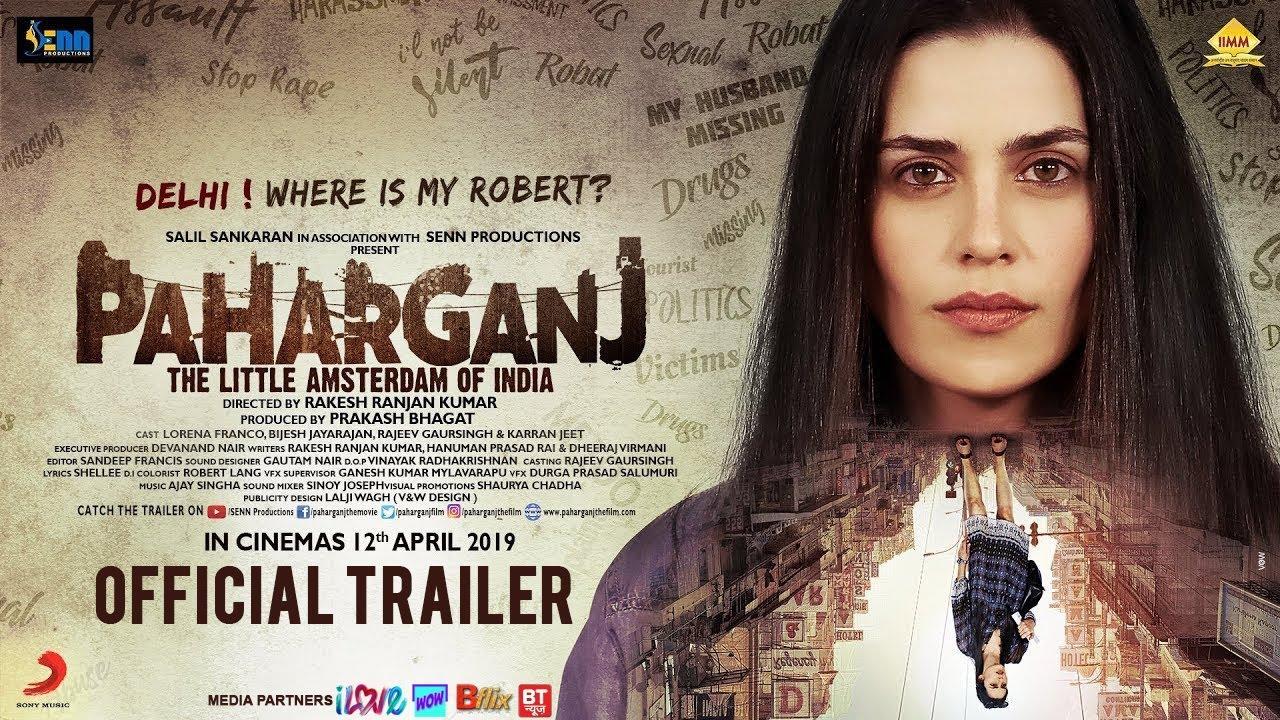 Download Paharganj Official Trailer   Laura Costa   Rakesh Ranjan Kumar   SENN Productions   12th April 2019