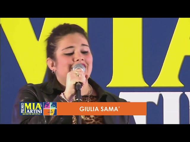 GIULIA SAMA' live - Incontri artistici Premio Mia Martini 2019