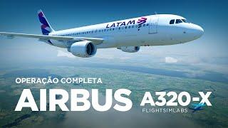 Operação completa Airbus A320 / Santarém → Belém (Feat Gui - Piloto real de Airbus)