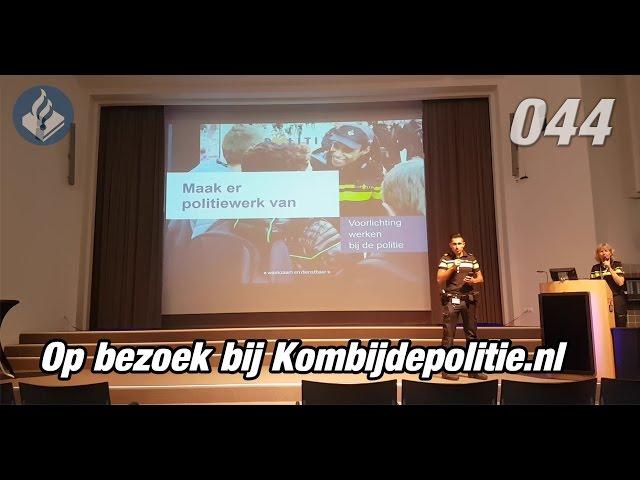 Op bezoek bij kombijdepolitie.nl Politie Vlogger Jan-Willem. NR 44