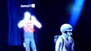 PS3 Home Club Fight Night DJ Glitch....DJ Gooner nd DJ Jamez in da house...