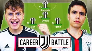 ⚔️1 VS 1 CAREER BATTLE CHALLENGE ZW VS TALOX con la JUVENTUS! FIFA19 ⚽️