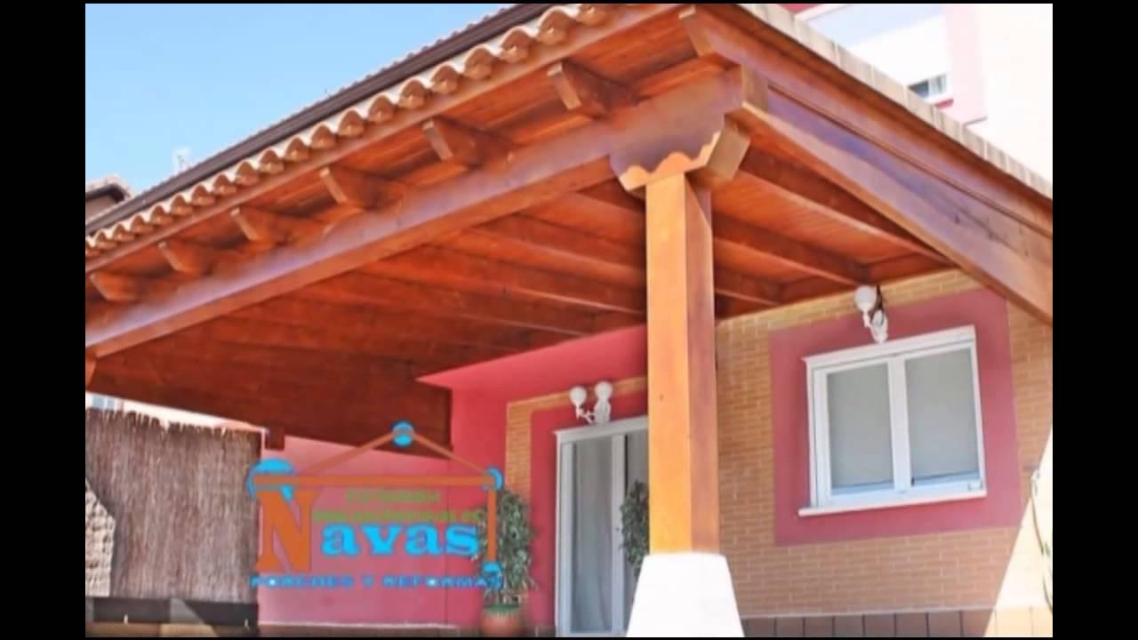 Hacer porche de madera villamantilla youtube - Como hacer un porche de madera ...