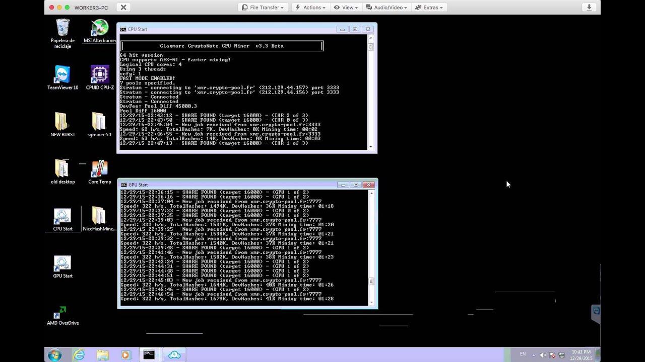Monero Xmr Cpu Miner How To Mine Zcash Hardware