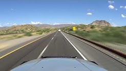 US-60 Gold Canyon To Superior, Arizona In 6 1/2-Minutes
