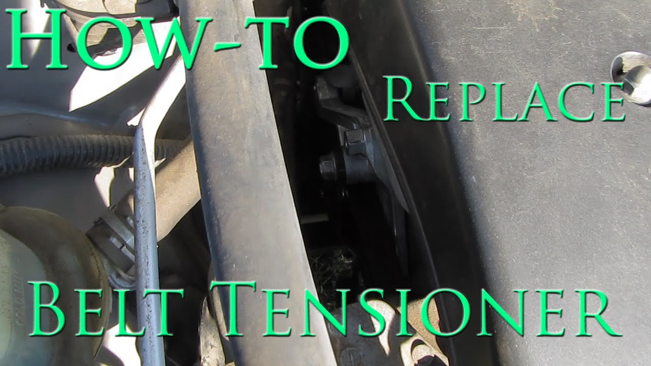 Belt Tensioner Replacement 2003 to 2008 Toyota Corolla ...