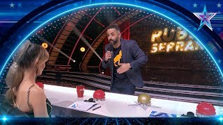 El particular humor de RUBÉN SERRANO te hará REÍR | Semifinal 4 | Got Talent España 5 (2019)