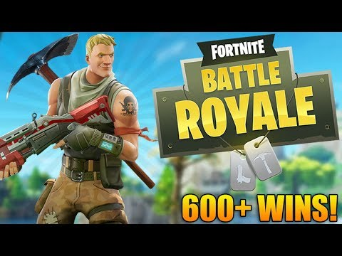 Fortnite Battle Royale: THE GRIND IS REAL! - 600+ WINS! - Fortnite Battle Royale Gameplay (PS4 PRO)
