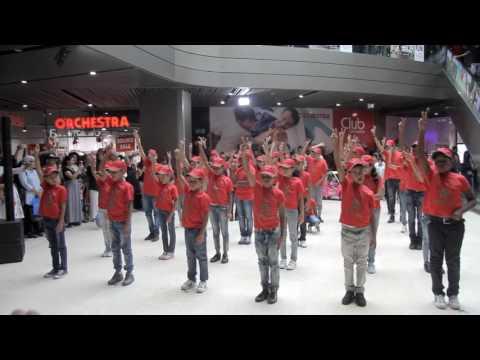 Flash mob  La marche verte metteur en scène essebar ismail