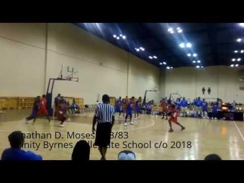 Jonathan D. Moses #23/83 Trinity Byrnes Collegiate School c/o 2018