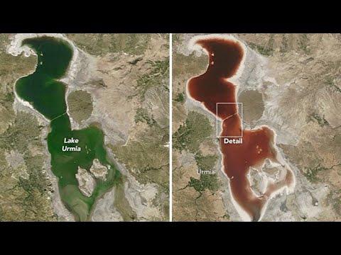 Lago Urmia; Lago de sangre, al borde de la extinción